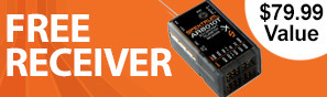 Get a free AR8010T receiver with purchase of this transmitter