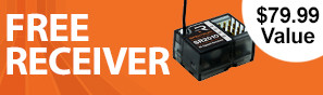 Get a free SR2010 receiver with purchase of this transmitter