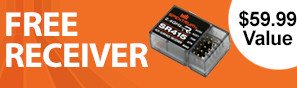 Get a free SR415 receiver with purchase of this transmitter