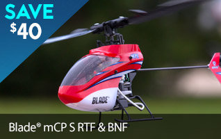 Save $40 on the Blade mCP S Micro 3D Aerobatic RC Helicopter