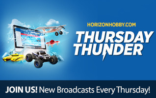 Horizon Hobby Thursday Thunder Live Announcments