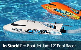 Jet Jam 12-inch RTR Pool Racer
