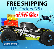 Get free standard shipping on orders $25 and up through November 30