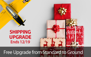 Get upgraded shipping just in time for the Holidays