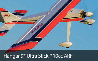 Hangar 9 Ultra Stick 10cc ARF Sport RC Airplane