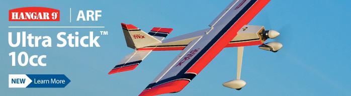 Hangar 9 Ultra Stick 10cc ARF Sport Balsa Airplane