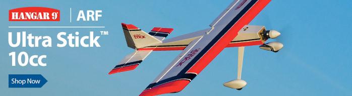 Hangar 9 Ultra Stick 10cc ARF 60-inch Sport Airplane