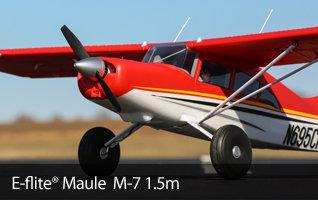 Available E-flite Maule M-7 1.5m