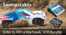 Enter to win a Force RC Warhawk 4WD Short Course Truck prize pack!
