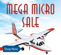 Mega Micro Sale - Save up to $20 on select E-flite UMX Airplanes through February 28