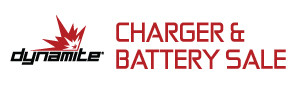 Save on select Dynamite Batteries and Chargers