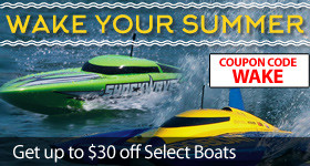 Save up to $30 off select Pro Boat Models with the Wake Your Summer Sale