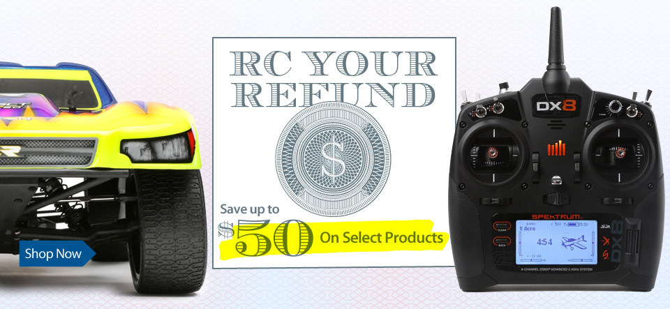 Get the most from your tax refund and instantly save up to $50 on select products