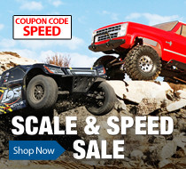 Save $40 off select Vaterra and Losi Trucks