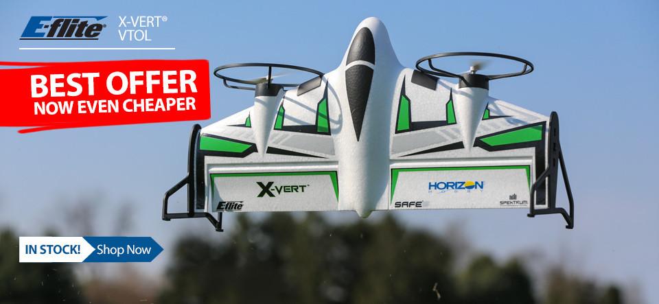 E-flite X-Vert VTOL