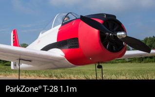 ParkZone T-28 Trojan 1.1m Scale Warbird Park Flyer Airplane