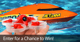 Enter for a chance to win a Jet Jam and Inductrix FPV+