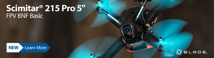 Blade Scimitar 215 Pro BNF Basic FPV Race Drone