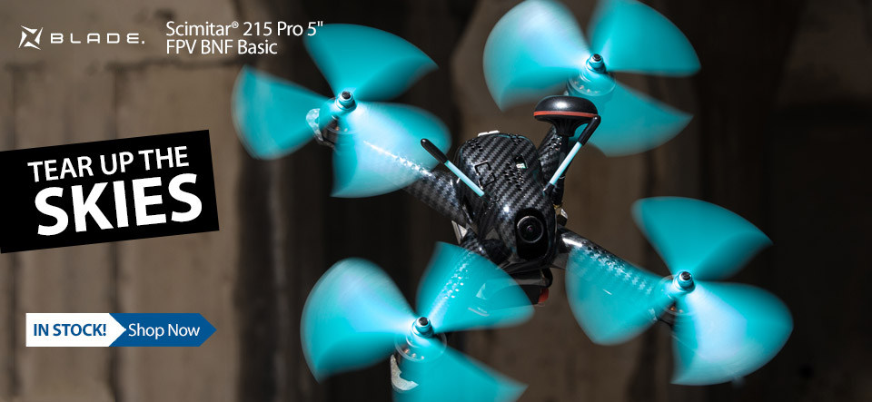 Blade Scimitar 215 Pro BNF Basic FPV Race Drone