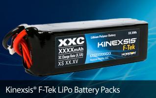 Kinexsis F-TEK LiPo Batteries - Good performance at a great price