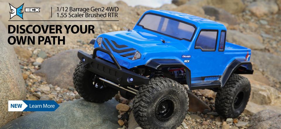 ECX  1/12 Barrage Gen2 4WD Scale Crawler RC Truck