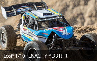 Losi 1/10 TENACITY-DB 4WD Desert Buggy RTR with AVC