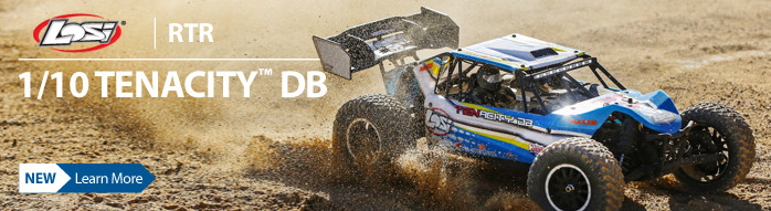 Losi 1/10-scale TENACITY-DB 4X4 Desert Buggy RTR with AVC Technology