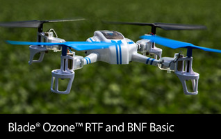 Blade Ozone RTF BNF Basic with SAFE Technology RC Drone Quadcopter