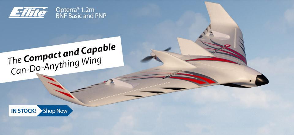 Mini Opterra 1.2m FPV Race Flying Wing
