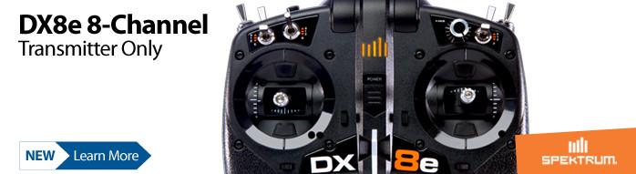 Spektrum DX8e 8-channel DSMX RC radio transmitter
