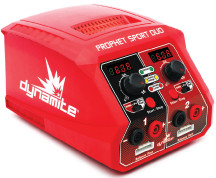Dynamite Prophet Sport Duo 50W x 2 AC Battery Charger (DYNC2025)
