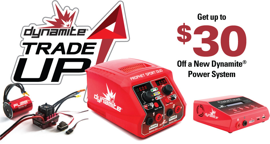 Dynamite Trade Up; Get $30 off a New Dynamite Power System
