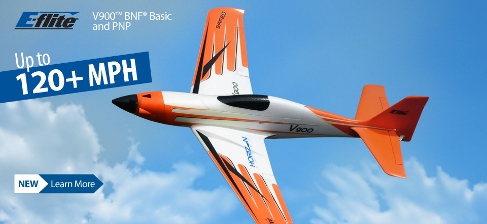 E-flite V900 High-Speed Sport RC Airplane