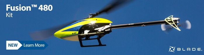 Blade Fusion 480 Kit Electric Almost-Ready-to-Fly RC Helicopter