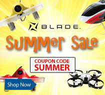 Blade Summer Sale - Save up to $50 on Select Blade RC Drones and Helicopters with code SUMMER
