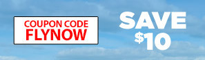 Learn To Fly Now - Save $10 with code FLYNOW - Click to see more details