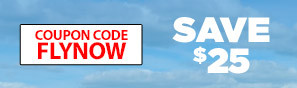 Learn To Fly Now - Save $25 with code FLYNOW - Click to see more details