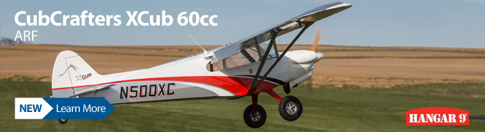 Hangar 9 CubCrafters XCub 60cc ARF Officially Licensed Giant Scale RC Airplane