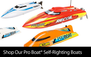 Pro Boat Self-Righting Boats