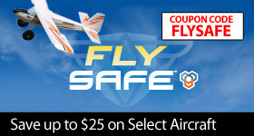 Fly SAFE - Instantly save up to $25 on select airplanes through July 31, 2018