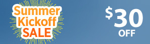 Summer Kick Off Sale - Instantly save $30 through June 4 - Click to see more deals