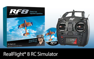 Great Planes RealFlight 8 RF8 RC Flight Simulator