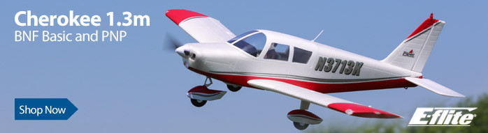E-flite Cherokee 1.3m Scale RC Airplane