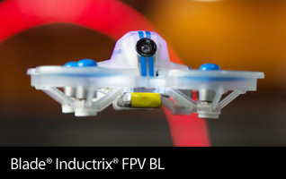 Blade Inductrix FPV BL BNF Basic Brushless Micro FPV Drone