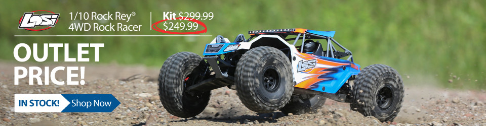 New Outlet Price! Losi Rock Rey 4WD Rock Racer Kit