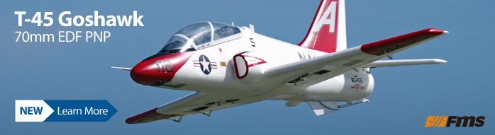 New! FMS T-45 Goshawk PNP 70mm EDF Jet