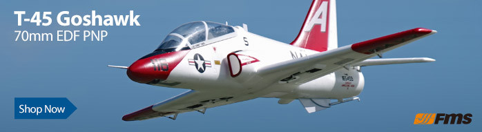 FMS T-45 Goshawk PNP 70mm EDF Scale Military Jet