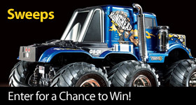 Enter for a chance to win a Tamiya 1/18 Konghead 6x6 G6-01 Truck Kit
