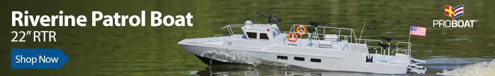 Pro Boat Riverine 22-inch Patrol Boat RTR