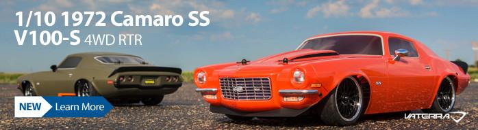 Vaterra 1/10 1972 Camaro SS V100-S 4WD RTR VTR03101